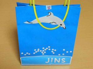 JINS紙袋